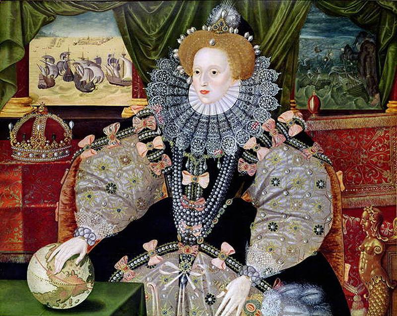 Elizabeth I(Armada Portrait) 1588