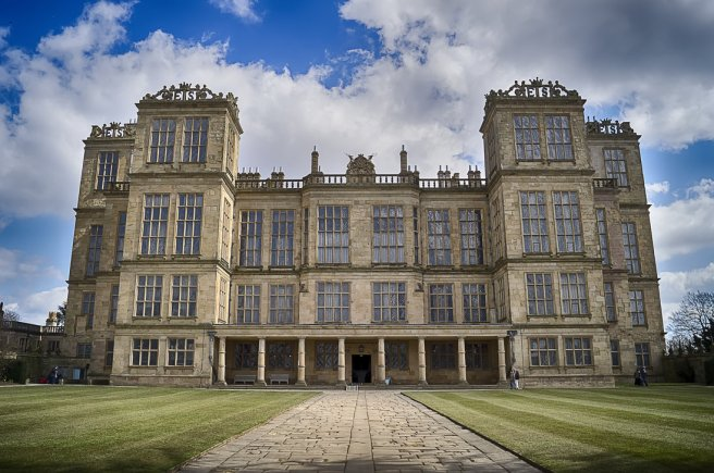 Hardwick Hall, Doe Lea, Derbyshire. Photo woody1981