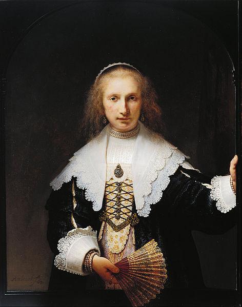 Rembrandt van Rijn Agatha Bas 1641. London, Royal Collection