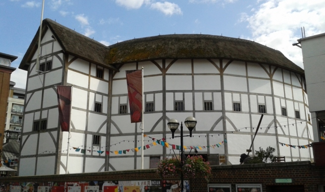 Globe Theatre, London. Photo by Paola Cacciari