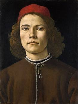 Portrait of a Young Man, 1480-5. London, The National Gallery