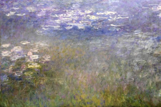 Claude Monet Agapanthus Triptych.