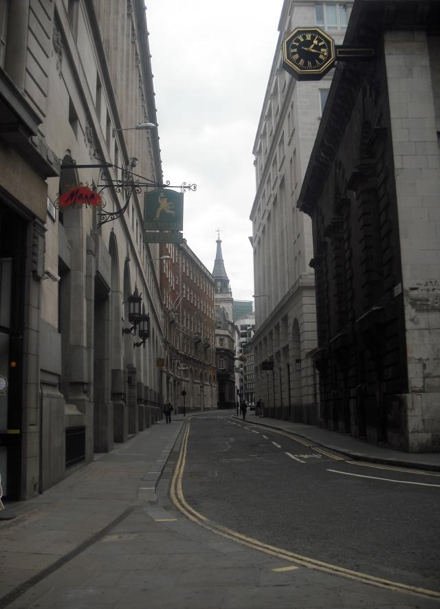 Lombard Street, London 2011©Nebbiadilondra