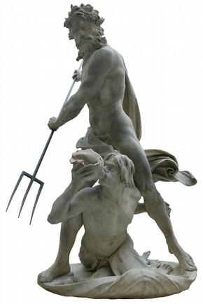Neptune and Triton by Gianlorenzo Bernini, 1622-23