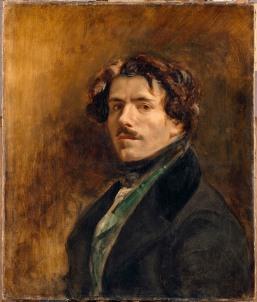 Delacroix Eugène (1798-1863). Paris, musée du Louvre. RF25.