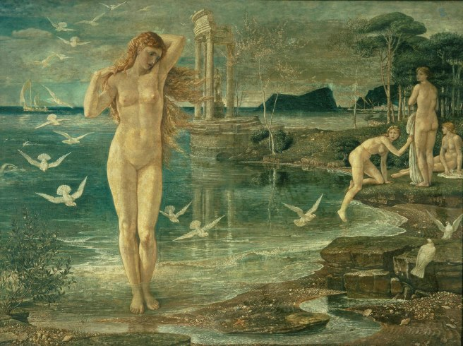 The Renaissance of Venus 1877 by Walter Crane © Tate