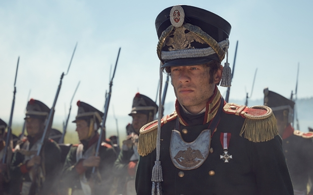 James Norton as Prince Andrei in War and Peace