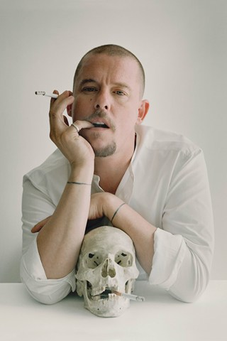 Alexander McQueen, photographed by Tim Walker Picture credit: Tim Walker