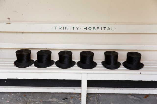 Trinity Hospital Greenwich, annual visitation to the sheltered accommodation provided by the Mercers' Company, London, 2015Photograph Martin ParrMagnum Photos