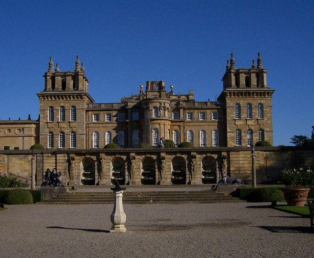 Blenheim Palace Terrace