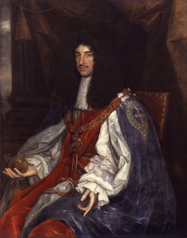 King Charles II (1660–1665) by John Michael Wright or studio National Portrait Gallery