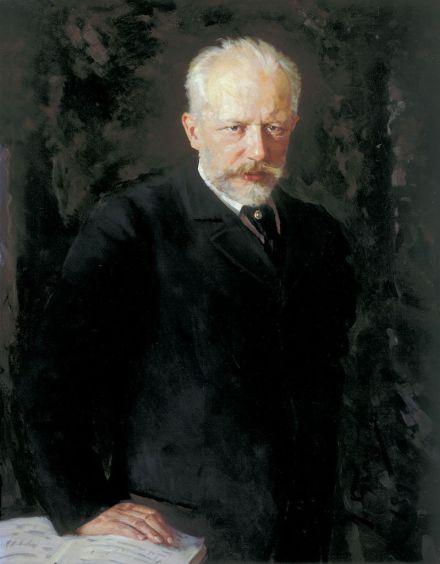Portrait of Pyotr Ilyich Tchaikovsky (1840-1893) by Nikolai Kuznetsov