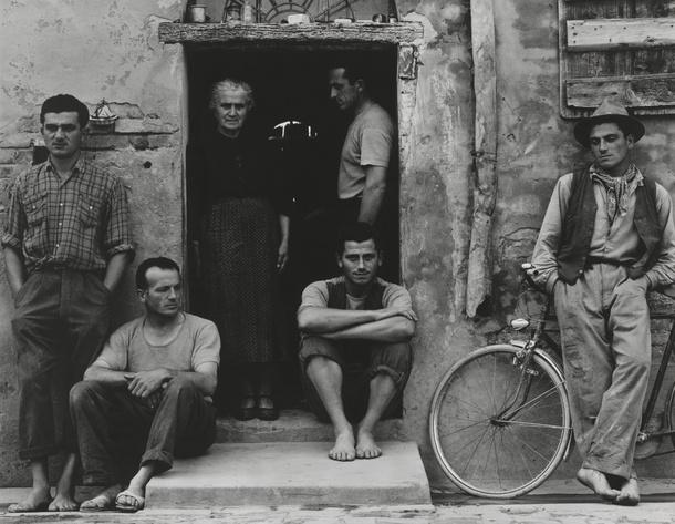 The Family, Luzzara The Lusetti, 1953 © Paul Strand Archive, Aperture Foundation
