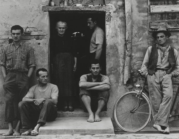 The Family, Luzzara The Lusetti, 1953 © Paul Strand Archive, Aperture Foundation