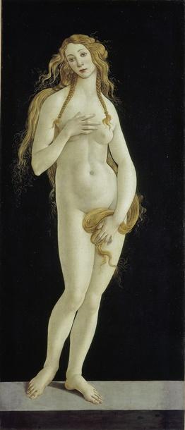 Venus Sandro Botticelli 1490s Gemäldegalerie Staatliche Museen zu Berlin Preußischer Kulturbesitz Photo Volker-H. Schneider