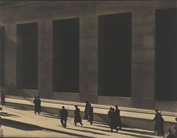 Wall Street, New York, 1915 © Paul Strand Archive, Aperture Foundation