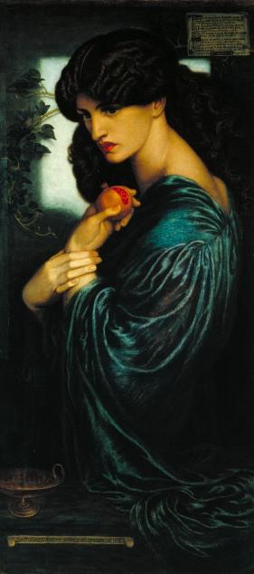 Dante Gabriel Rossetti, Proserpine 1874 Tate