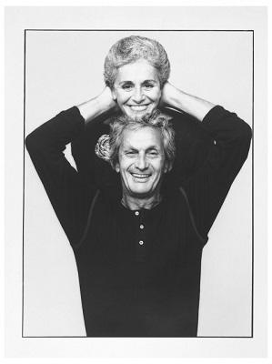 Ottavio e Rosita Missoni. Photo Giuseppe Pino, 1984