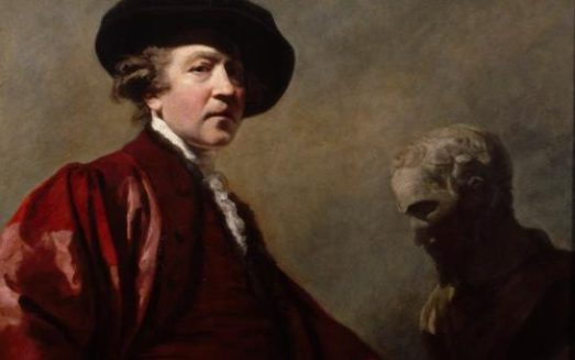 Sir Joshua Reynolds Self Portrait, about 1780 Credit: John Hammond
