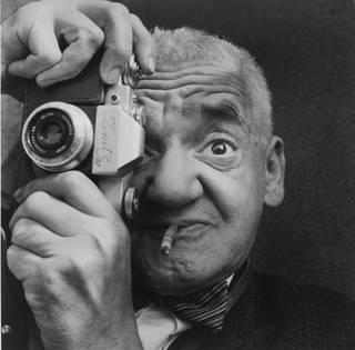 Weegee the Famous', Richard Sadler, 1963.  © Richard Sadler