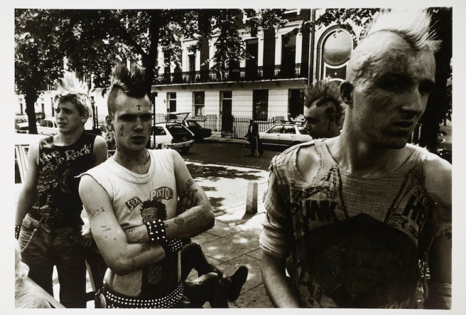 Punks on the Kings Road, 1981. © Dick Scott-Stewart Archive/Museum of London.