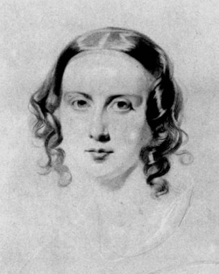 Catherine Dickens by Samuel Lawrence (1838)