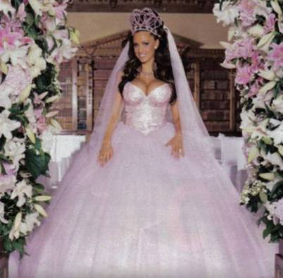 Katie Price wedding dress
