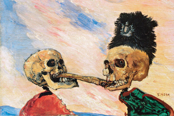 ensors-skeletons-fighting-over-a-pickled-herring-1891-at-moma