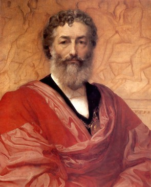 Self portrait of Leighton (1880)
