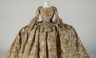 Eighteenth Century Court Mantua (Robe and Petticoat), 1748–1750. Courtesy Fashion Museum Bath