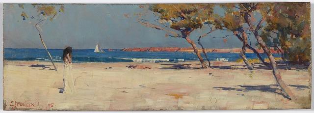 Arthur Streeton, Ariadne (1895) National Gallery of Australia in Canberra