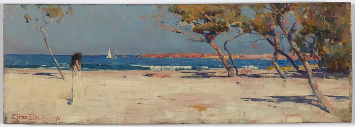 Arthur Streeton, Ariadne (1895) National Gallery of Australia in Canberra