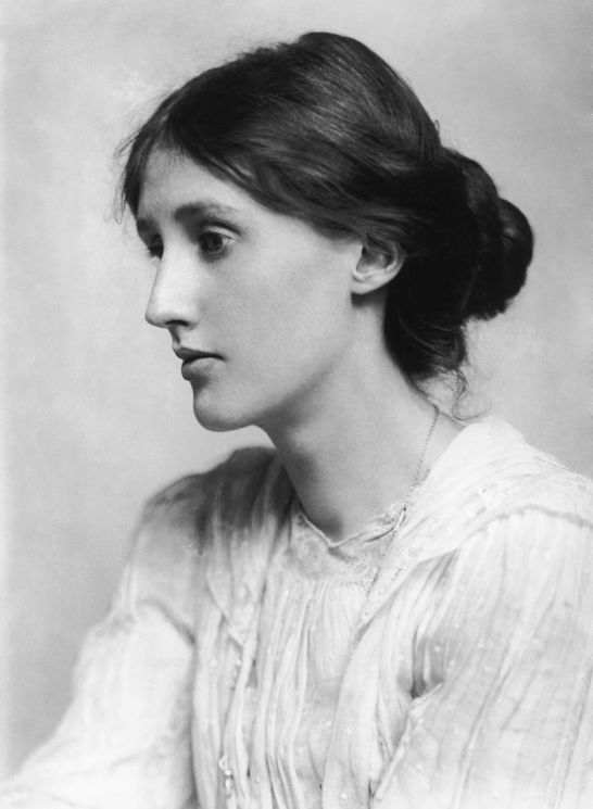 Virginia Woolf in 1902; photograph by George Charles Beresford.
