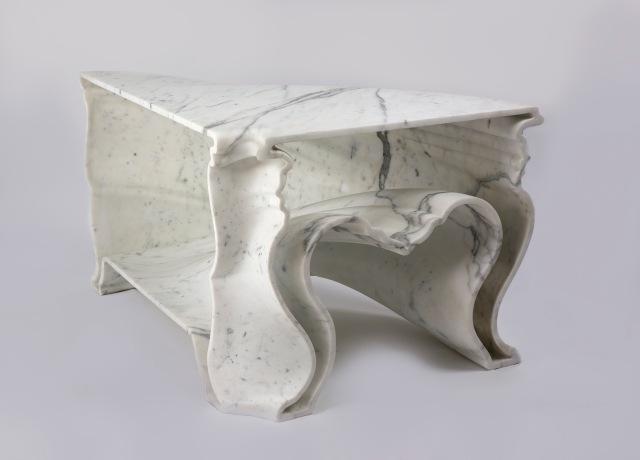 Cinderella table, 2008 Demakersvan/Jeroen Verhoeven © Demakersvan/Jeroen Verhoeven. Courtesy of Carpenters Workshop Gallery