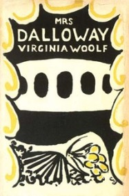 Mrs Dalloway, cover design by Vanessa Bell. Hogarth Press, 14 May 1925