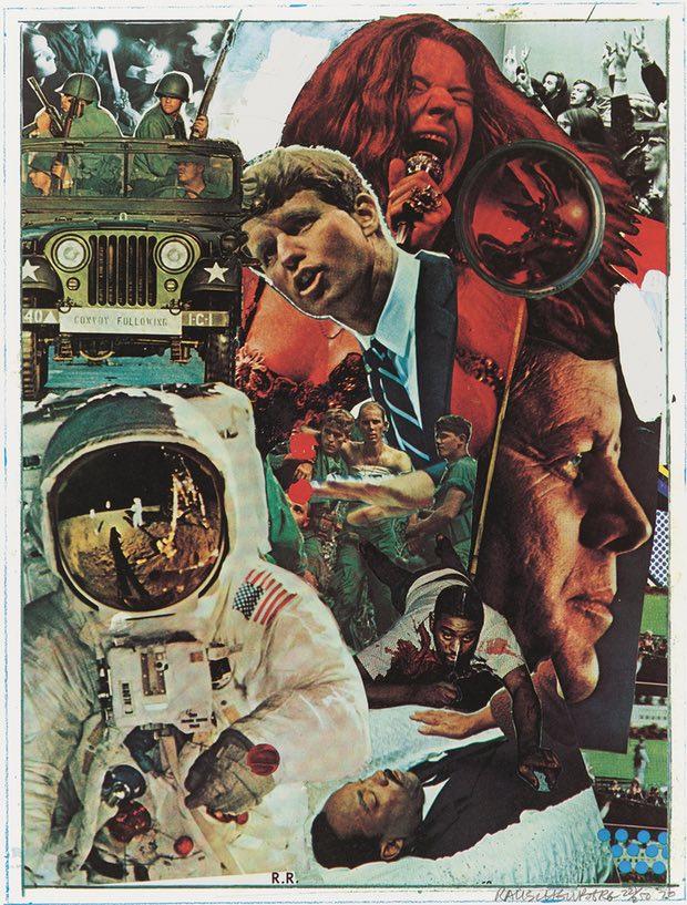 Robert Rauschenberg Signs (1970). Photograph: © Robert Rauschenberg Foundation, New York