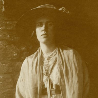 Vanessa Bell in 1911. Photograph The Estate of Vanessa Bell, courtesy of Henrietta Garnett