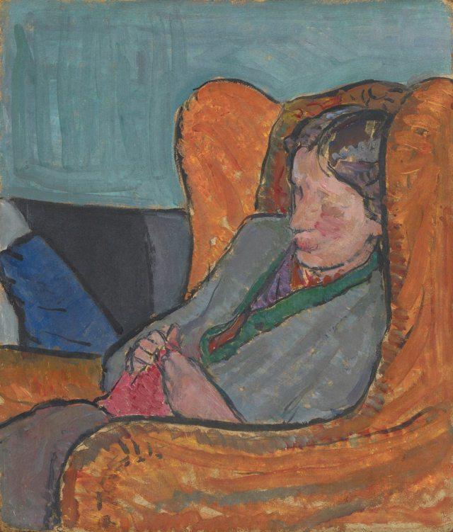 Vanessa Bell, Virginia Woolf c. 1912 National Portrait Gallery, London © National Portrait Gallery, London