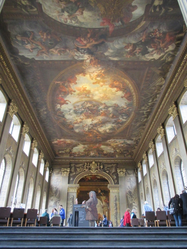 Painted Hall, Old Royal Naval College, Greenwich. Londra 2016 © Paola Cacciari