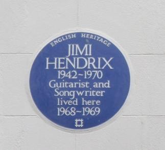 Hendrix Blue Plaques London 2016 © Paola Cacciari