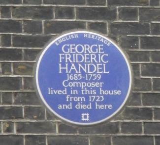 Handel Blue Plaques. London 2016 © Paola Cacciari