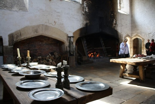 Great kitchen, Hampton Court. London 2012© Paola Cacciari