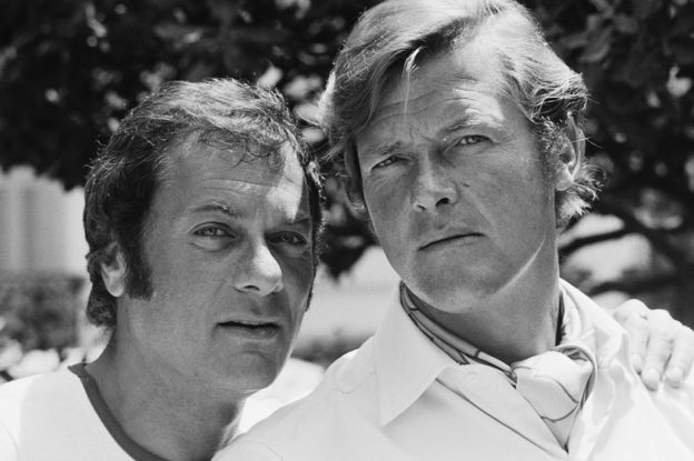 In 1971 Sir Roger landed the joint lead role in the actioncomedy TV show The Persuaders! alongside Tony Curtis. Sir Roger played Lord Brett Sinclair and Curtis the self-made millionaire Danny Wilde.