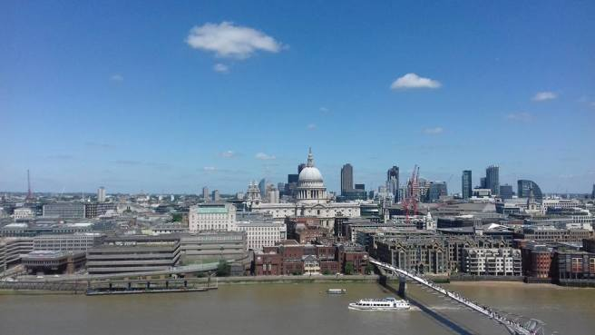 Saint Paul's Cathedral from Tate Modern. London, 2017. Photo by Paola Cacciari