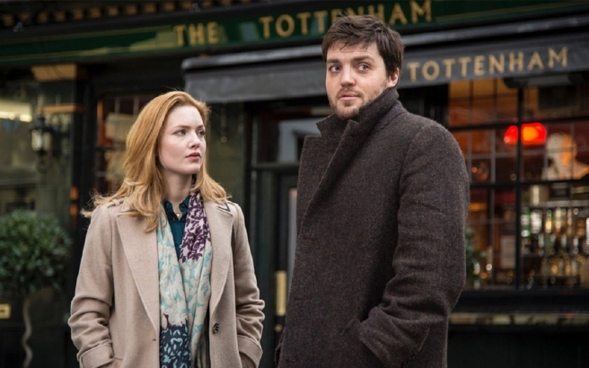 Holliday Grainger and Tom Burke in a first look at The Cuckoo's Calling