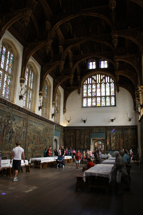 Great Hall, Hampton Court. London 2012© Paola Cacciari