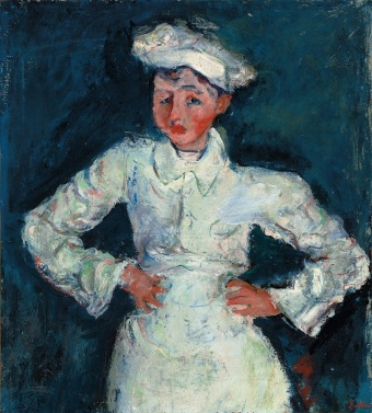 Soutine, Chaim (1894-1943). The Little Pastry Cook; Le petit patissier. c.1927 Christie's Images, London/Scala, Florence provided in writing from Scala.