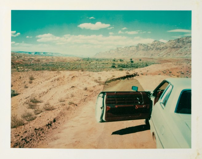 They were made from theValley of the Gods, Utah, 1977, by Wim Wenders. Photograph: © Wim Wenders/Courtesy Deutsches Filminstitut Frankfurt