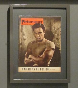 Marlon Brando sulla copertina di Picturegoer Magazine nel 1953. Londra 2018 © Paola Cacciari