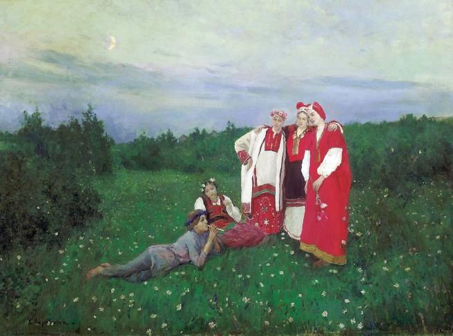 Konstantin-Korovin-idillio-nordico_1886